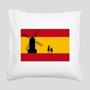 Don Quixote Square Canvas Pillow