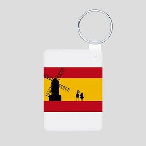 Don Quixote Aluminum Photo Keychain