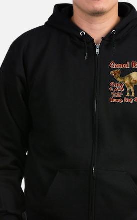 Camel Rides Zip Hoodie