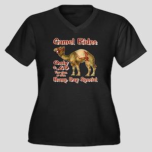 Camel Rides Plus Size T-Shirt
