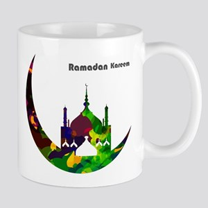 Colorful Ramadan Kareem design Mugs