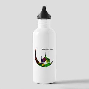 Colorful Ramadan Karee Stainless Water Bottle 1.0L