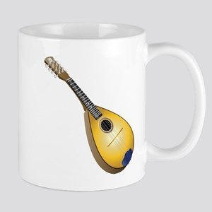 Musical instrument graphic art Mugs