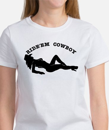 Ride'Em Cowboy Women's T-Shirt