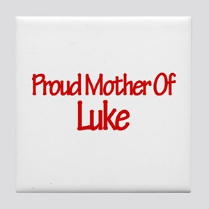 Proud Mother of Luke Tile Coaster
