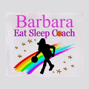 BASKETBALL COACH Throw Blanket