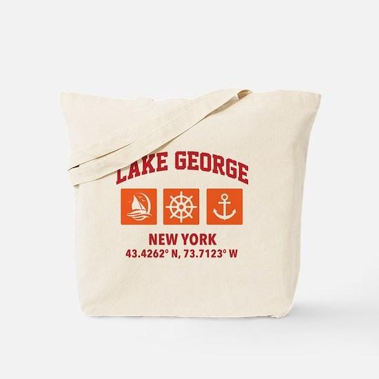 Cool Lake george Tote Bag