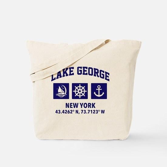 Lake george Tote Bag