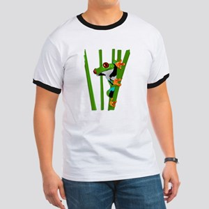 Cute frog on grass T-Shirt