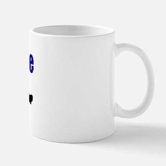 Street Luge Mug