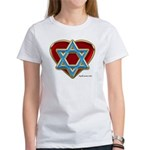 Heart For Israel Women's T-Shirt