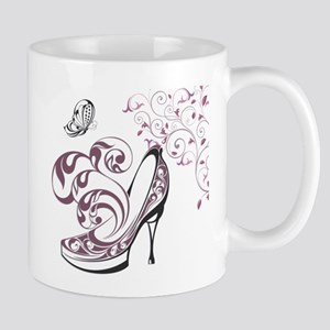 Exquisite hand painted pattern background Mugs