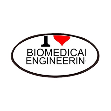 I Love Biomedical Engineering Patch by interestsbest