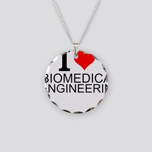 I Love Biomedical Engineering Necklace
