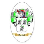 Turnbull 1 Sticker (Oval 50 pk)