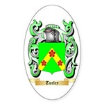 Turley Sticker (Oval 50 pk)