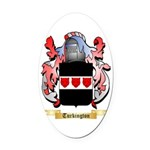 Turkington Oval Car Magnet