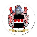 Turkington Round Car Magnet