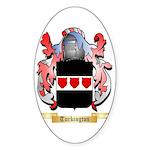 Turkington Sticker (Oval 10 pk)