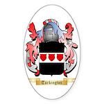 Turkington Sticker (Oval 50 pk)