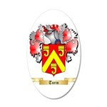 Turin 35x21 Oval Wall Decal