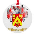 Turet Round Ornament