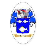 Turbit Sticker (Oval 50 pk)