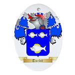 Turbit Oval Ornament
