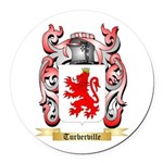 Turberville Round Car Magnet