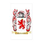 Turberville Sticker (Rectangle 50 pk)