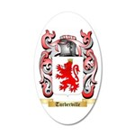 Turberville 35x21 Oval Wall Decal