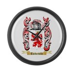 Turberville Large Wall Clock