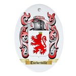 Turberville Oval Ornament