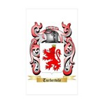 Turbervile Sticker (Rectangle 50 pk)