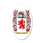 Turbervile 20x12 Oval Wall Decal