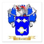 Turbat Square Car Magnet 3
