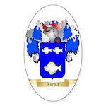 Turbat Sticker (Oval 50 pk)