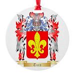 Tura Round Ornament