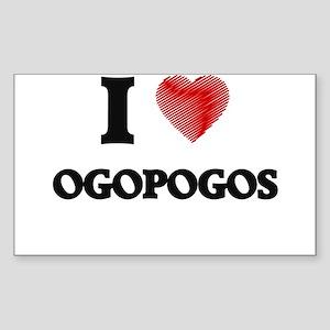 I love Ogopogos Sticker