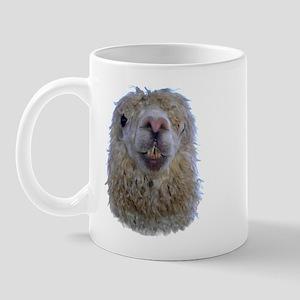 Alpaca Closeup Mug