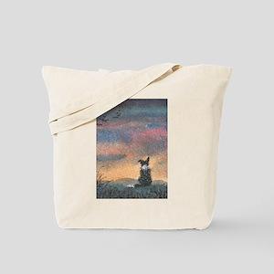 Evening flight Tote Bag