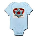 Heart For Israel Infant Creeper