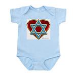 Heart For Israel Infant Creeper