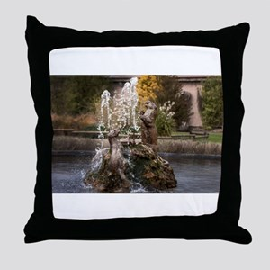 Chester Zoological Gardens Throw Pillow