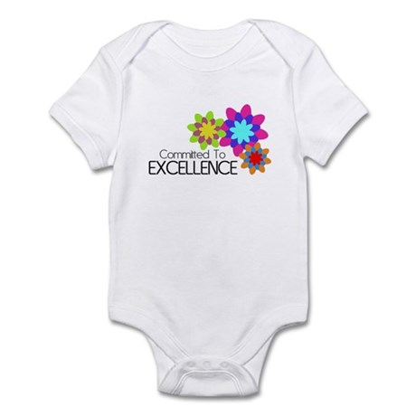 """""""Committed to Excellence"""" Infant Bodysuit"""