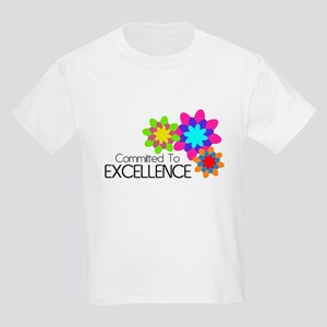 """""""Committed to Excellence"""" Kids Light T-Shirt"""