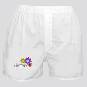"""Committed to Excellence"" Boxer Shorts"