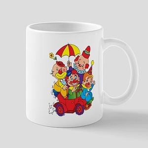Clown kids in car design Mugs