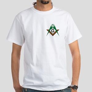 Masonic Recyclers White T-Shirt