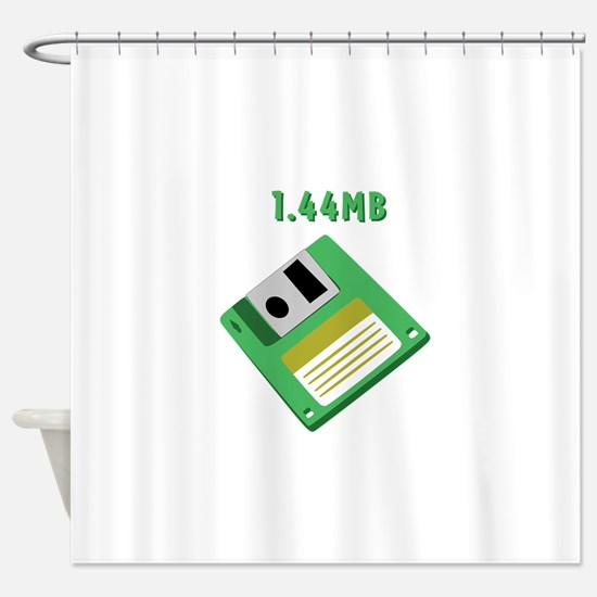 1.44mb Shower Curtain